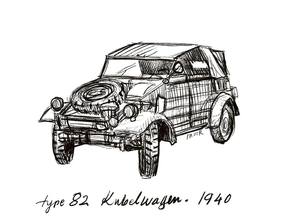 1940 Kubelwagen car