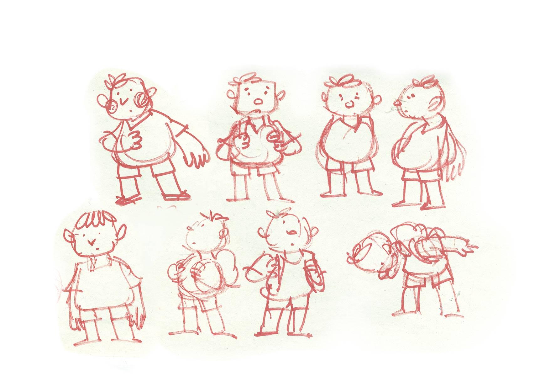 character design study