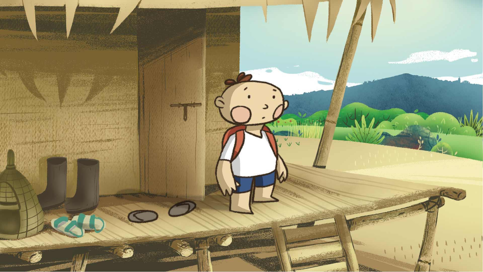 small arunachal boy