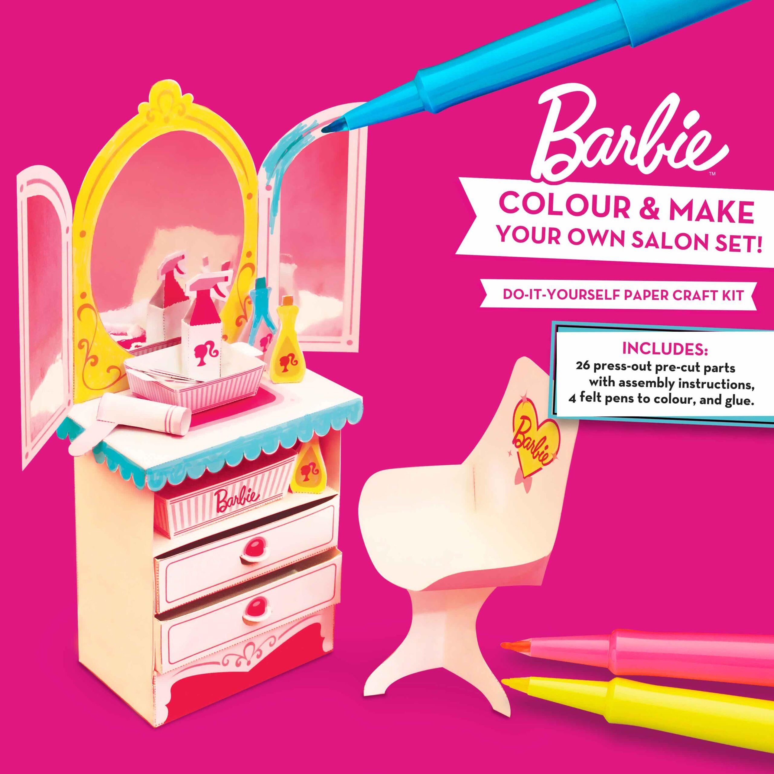 Barbie Salon paper
