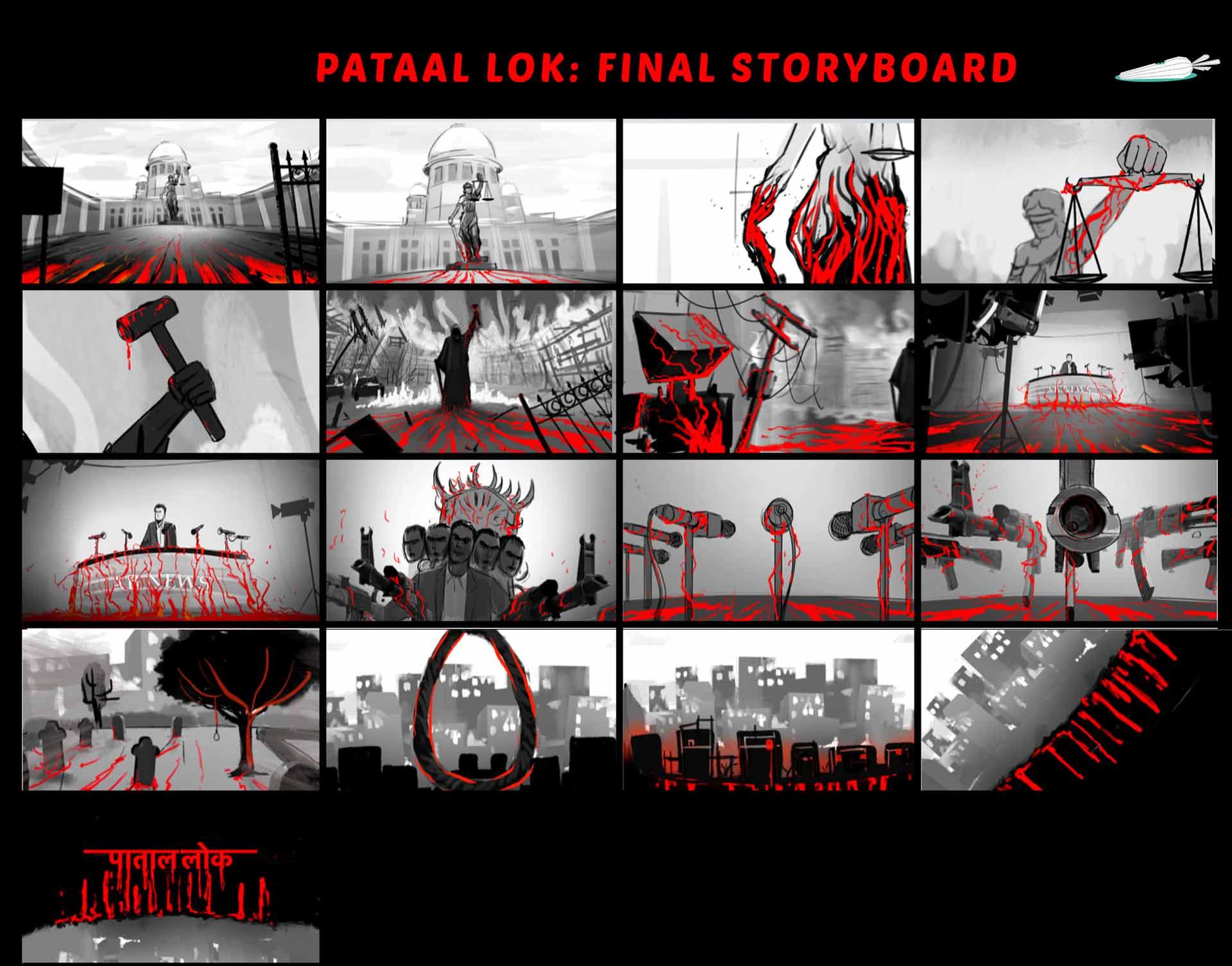 Pataal Lok Announcement Promo