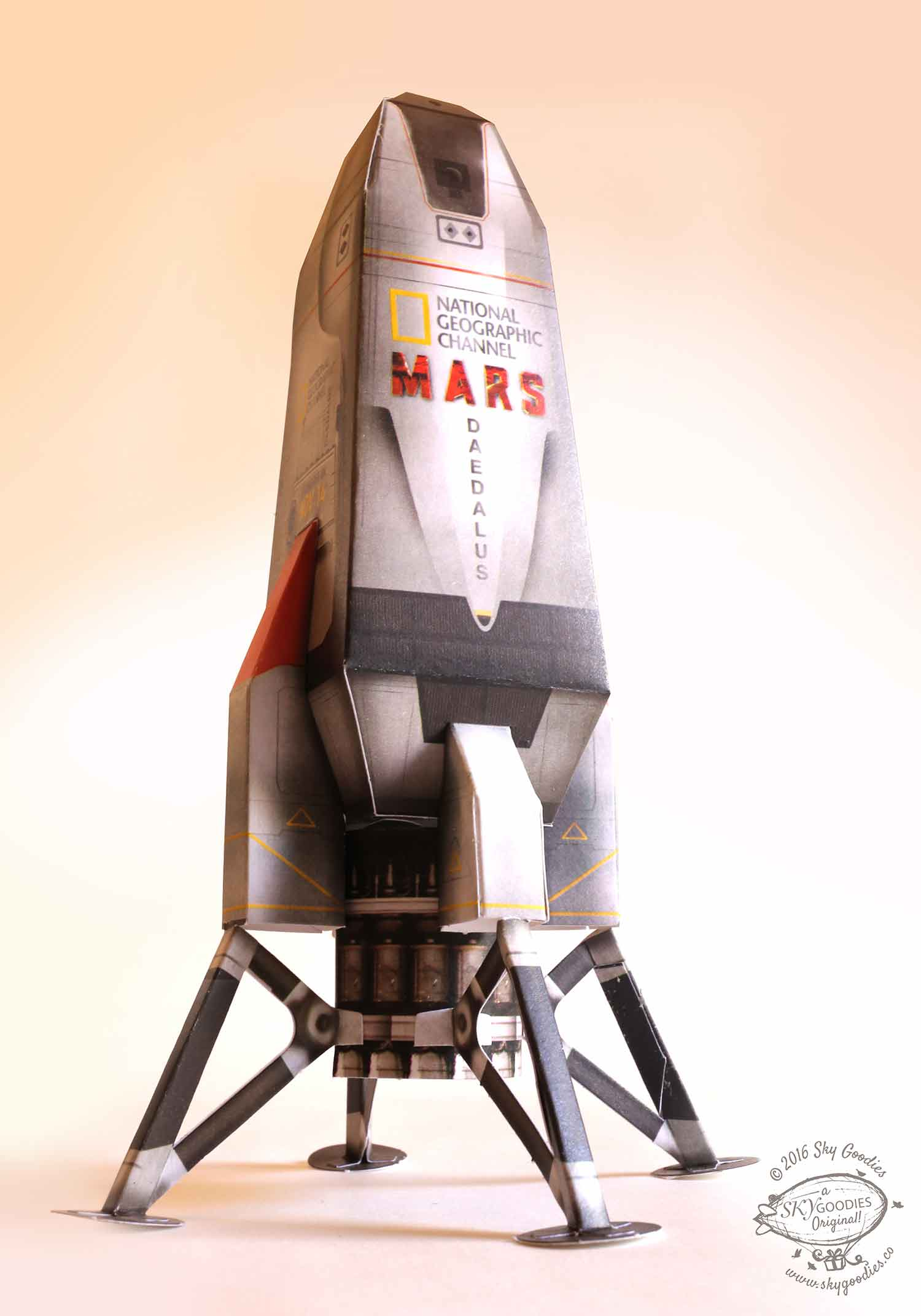 Paper mission to mars