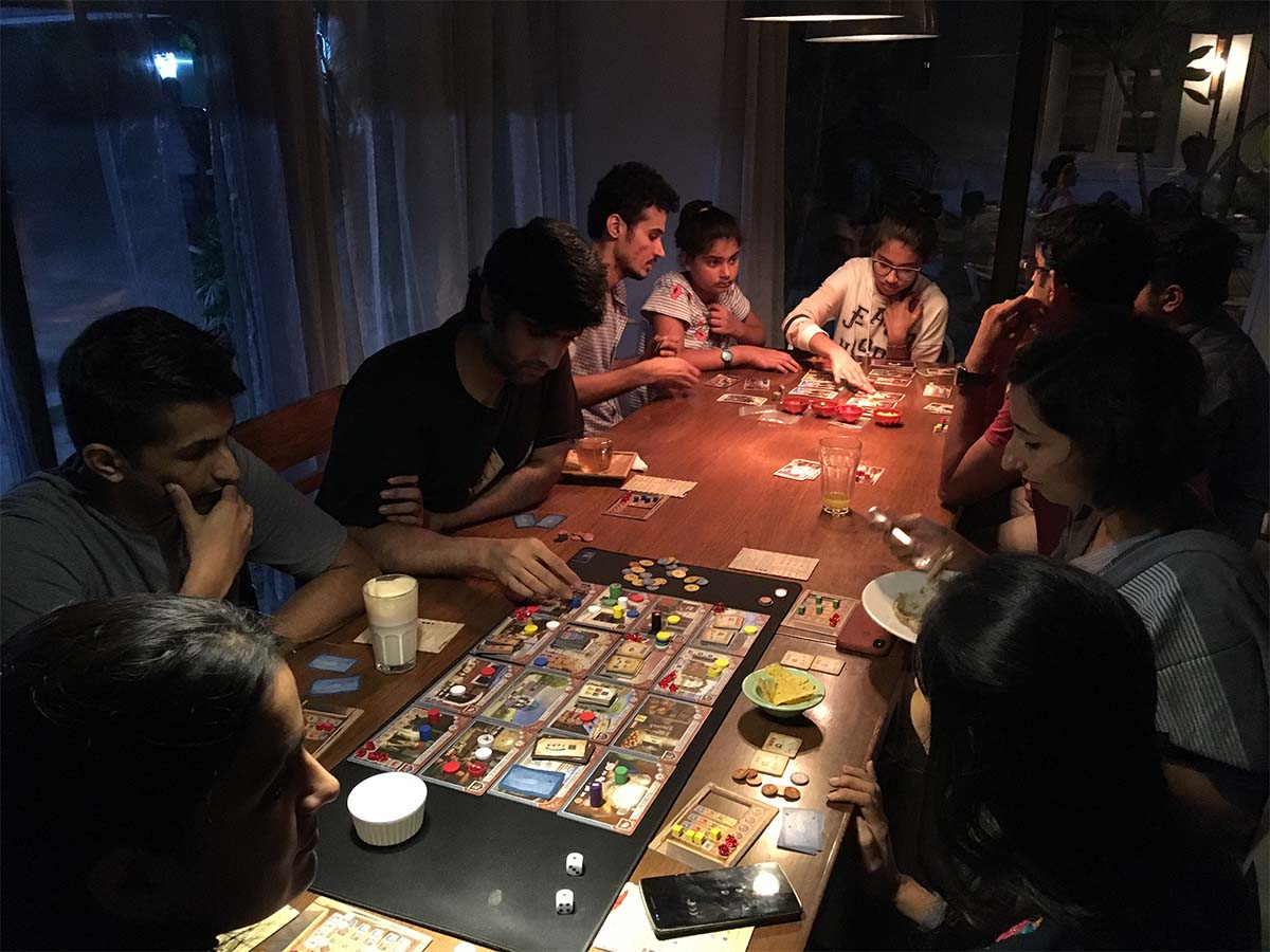 Hosting the fortnightly community game night in Ahmedabad at Project Otenga2