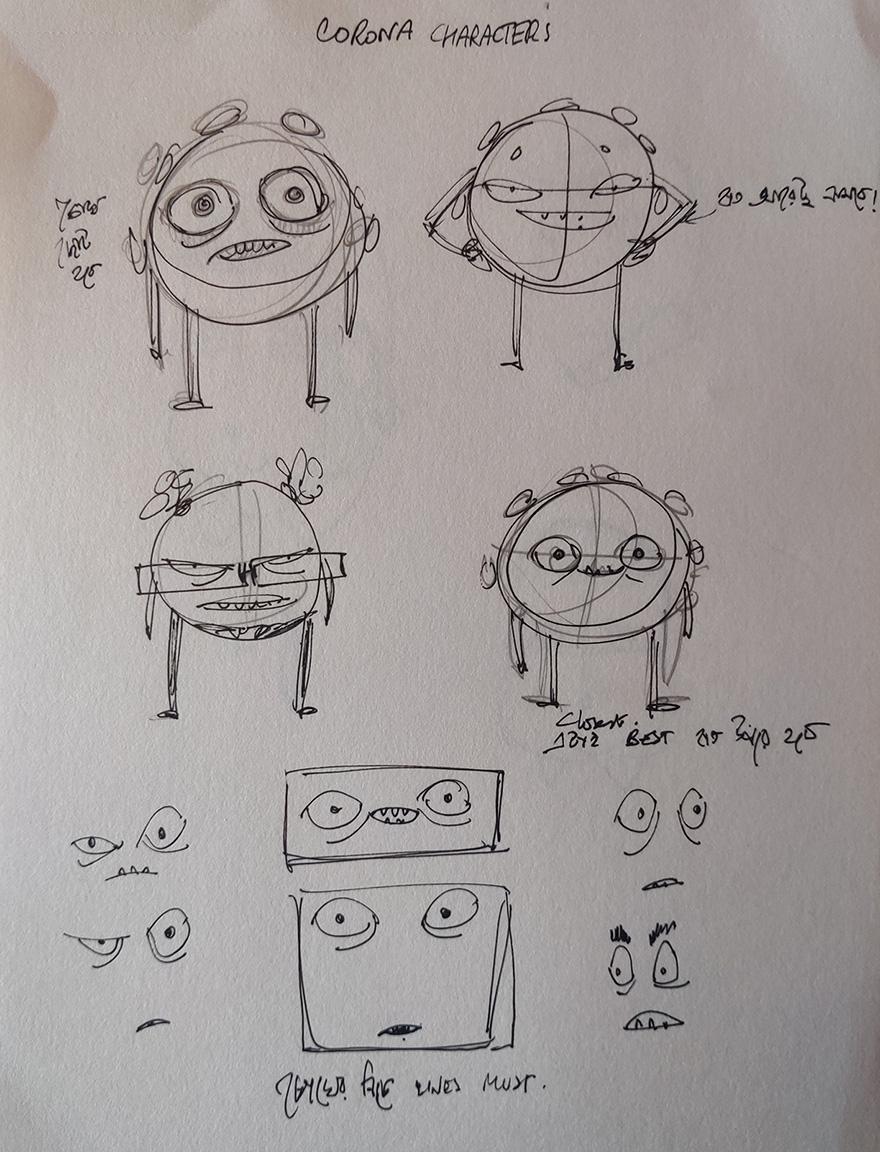 Corona Characters