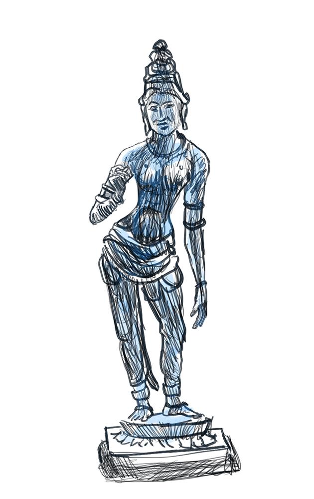 tanjore bronze z