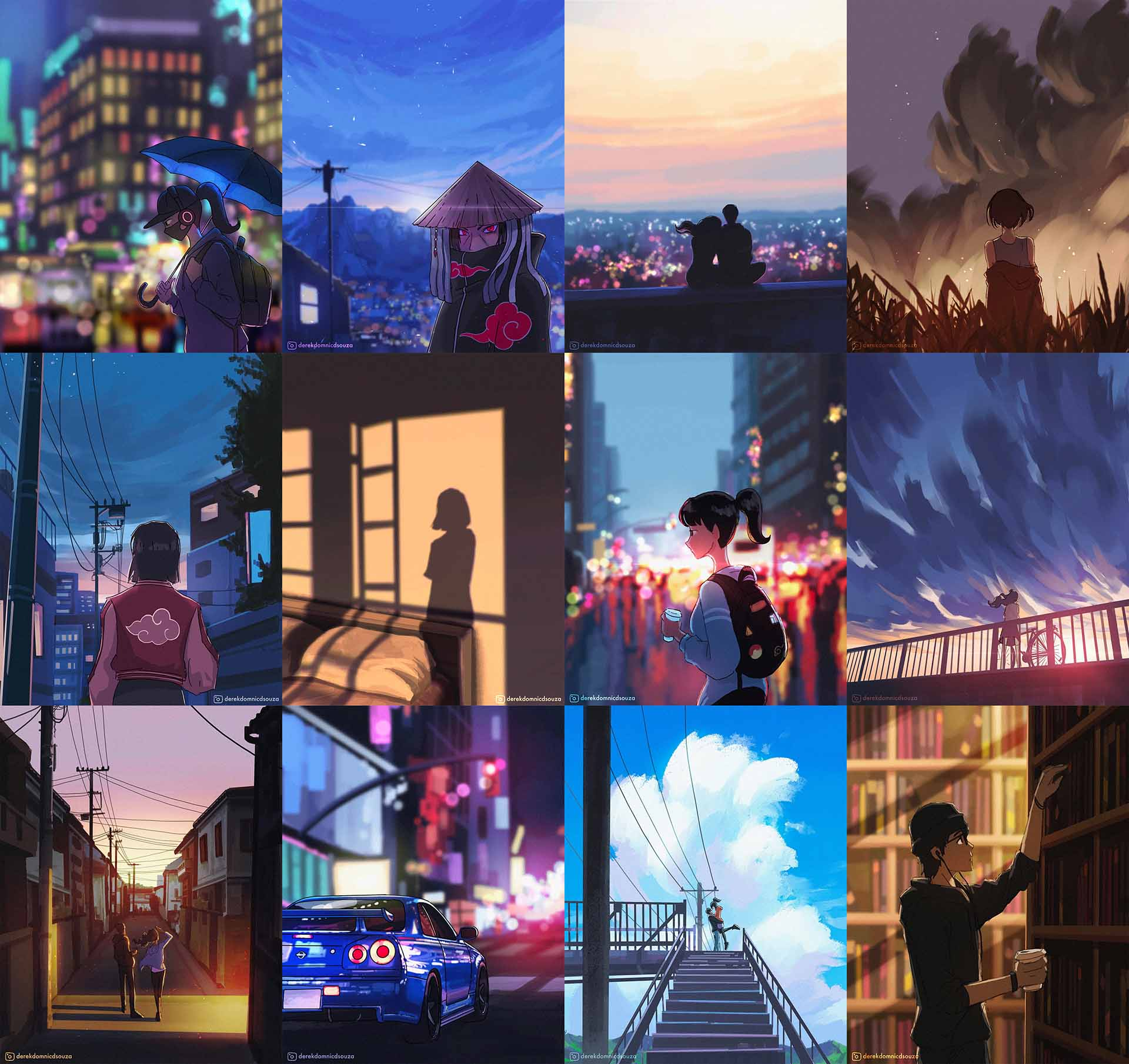 Illustrations Made for Recent Reels
