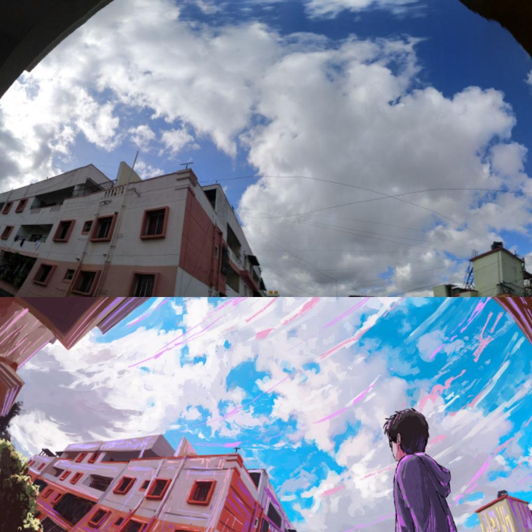 Reference Image VS illustration