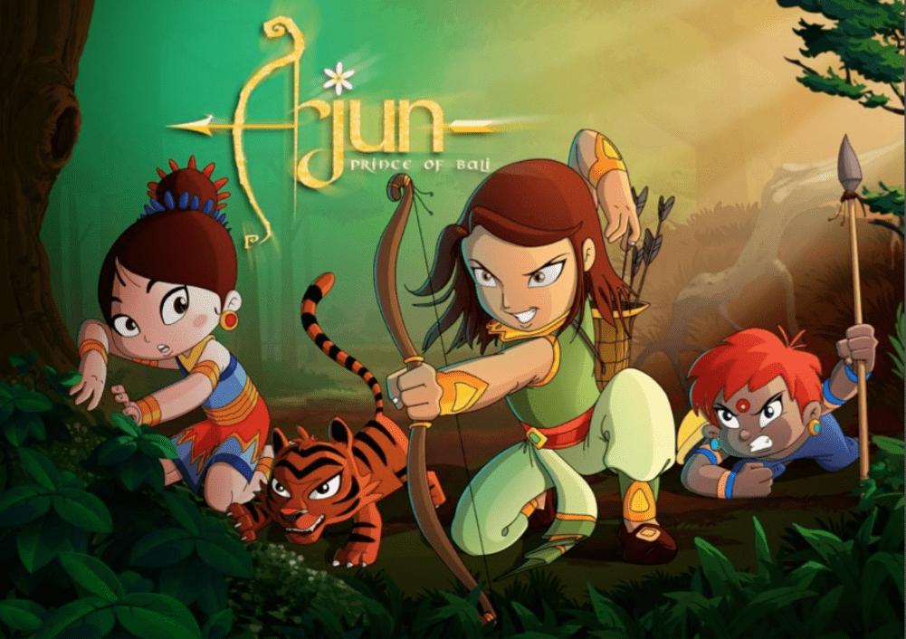 Arjun Prince of Bali_Disney_GreenGold