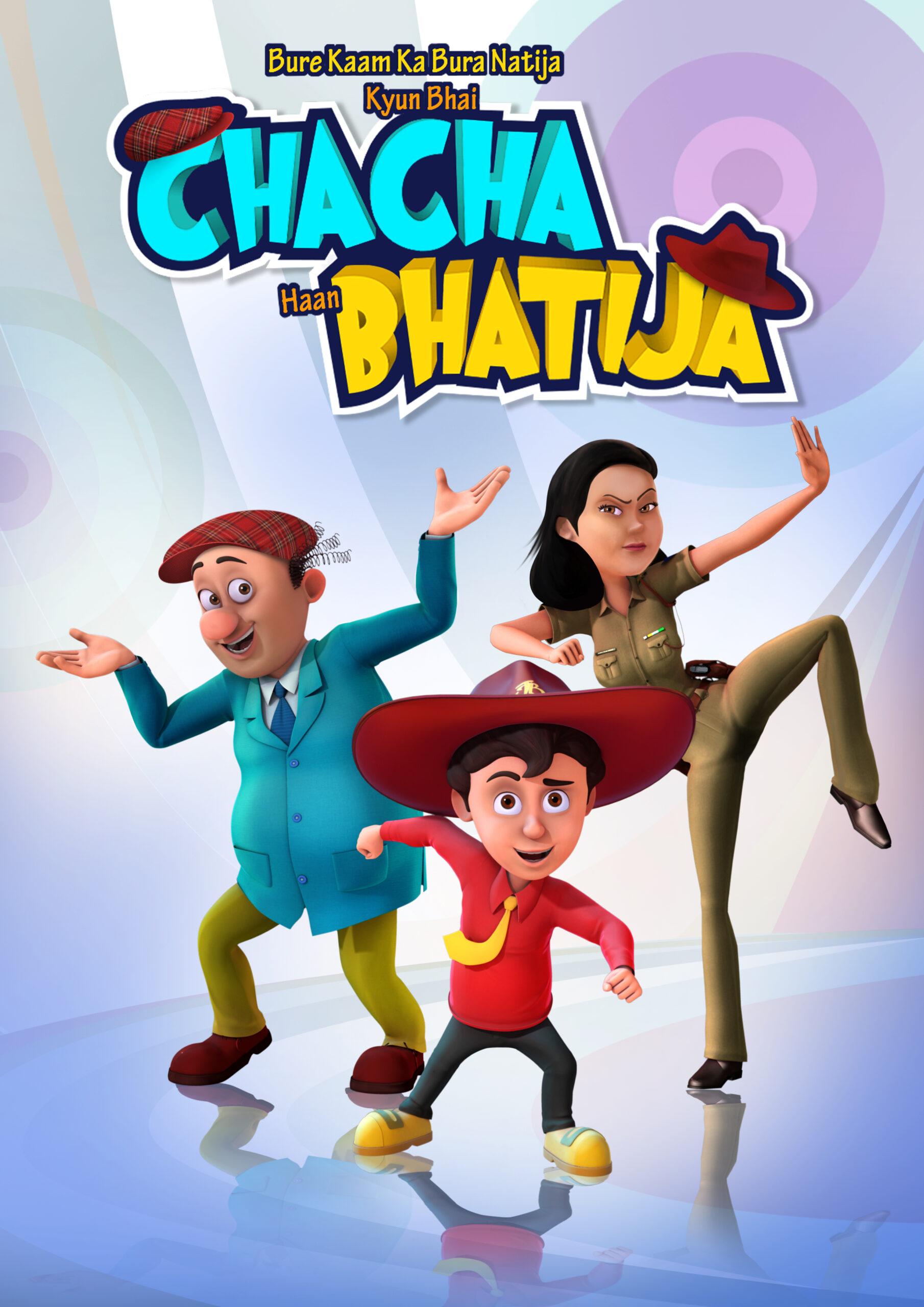 Chacha Bhatija_Disney_Maya