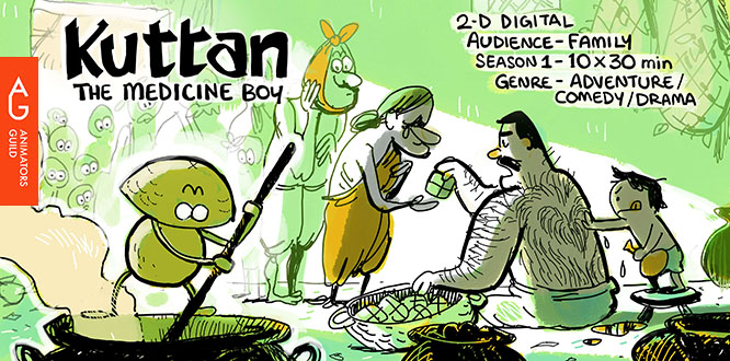 Big hopes for Kuttan : An Interview with creator Anand Babu