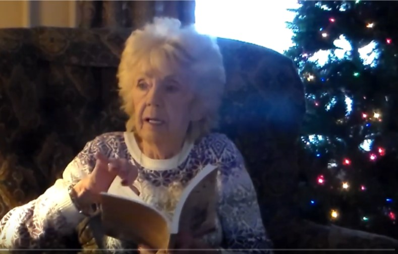 Viking Amma Reads the Yule Lad Poem