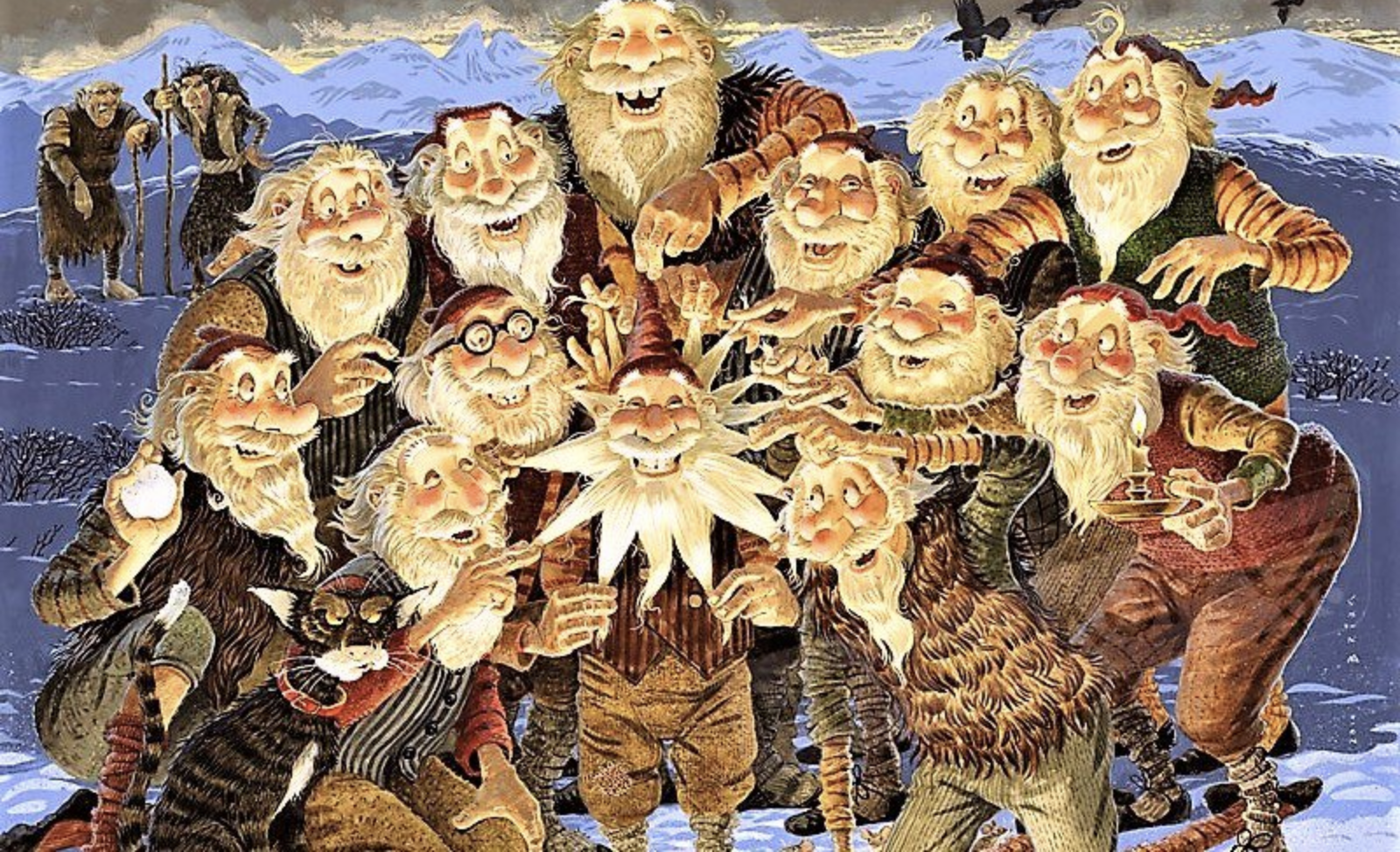 Weird Christmas Podcast on the Yule Lads