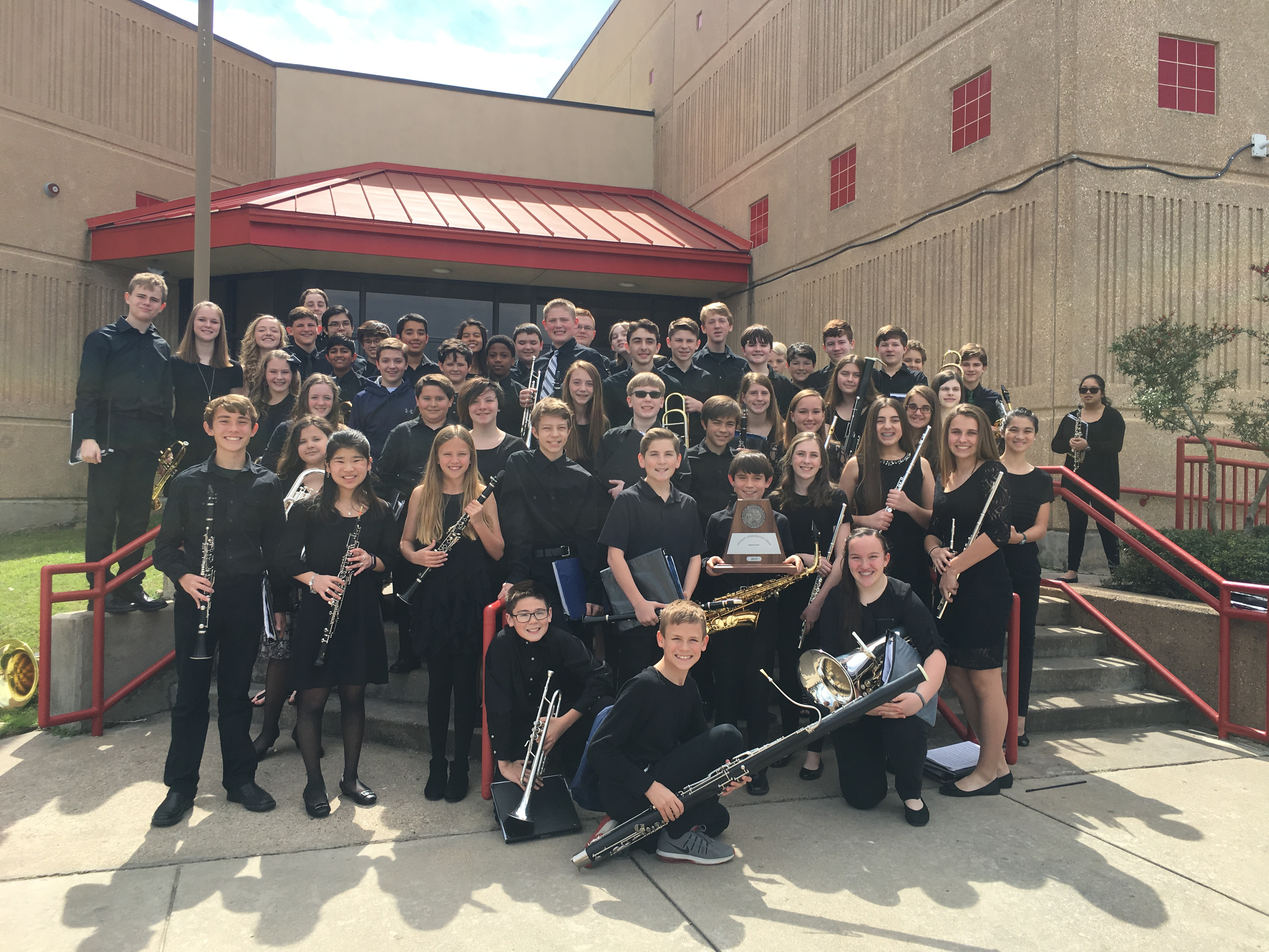 UIL Group with Instruments