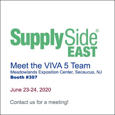 Meet the VIVA 5 Team at SupplySide EAST