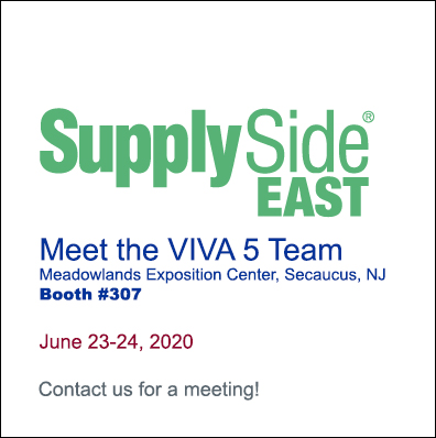 Meet the VIVA 5 Team at SupplySide EAST