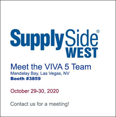 Meet the VIVA 5 Team at SupplySide WEST
