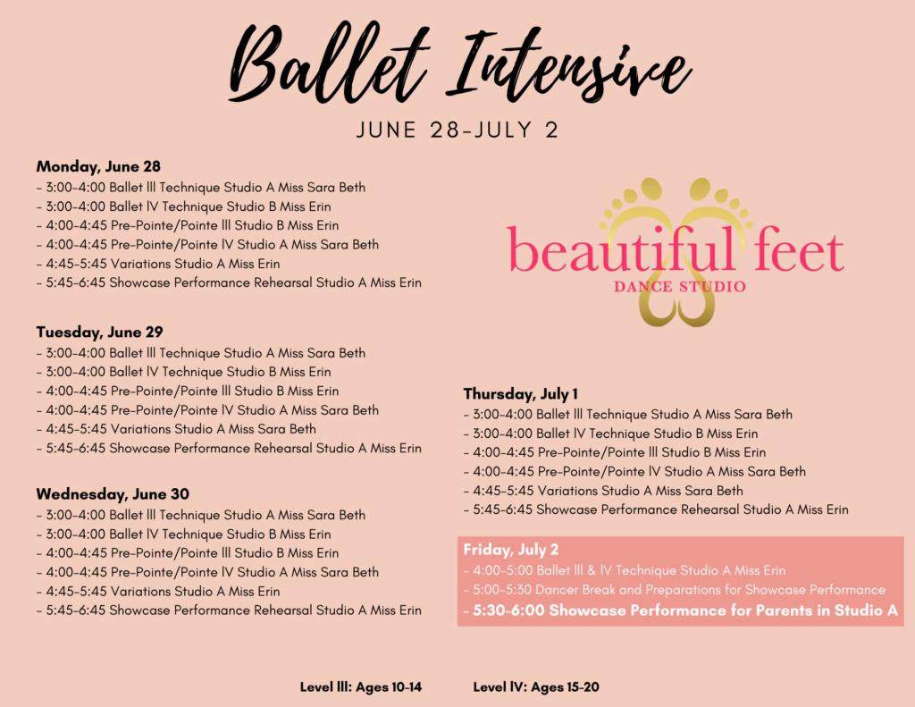 Summer Ballet Intensive