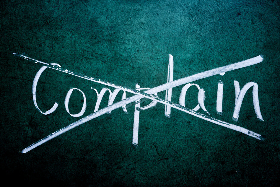 How to Overcome the habit of Complaining
