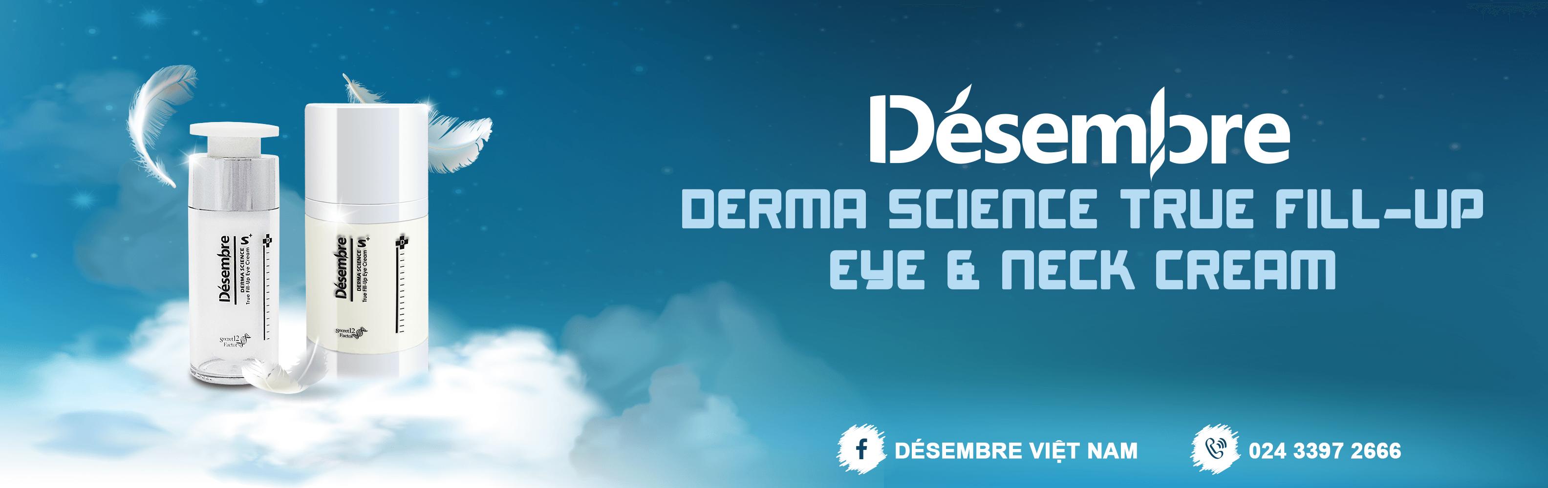 DÉSEMBRE DERMA SCIENCE TRUE FILL-UP EYE & NECK CREAM