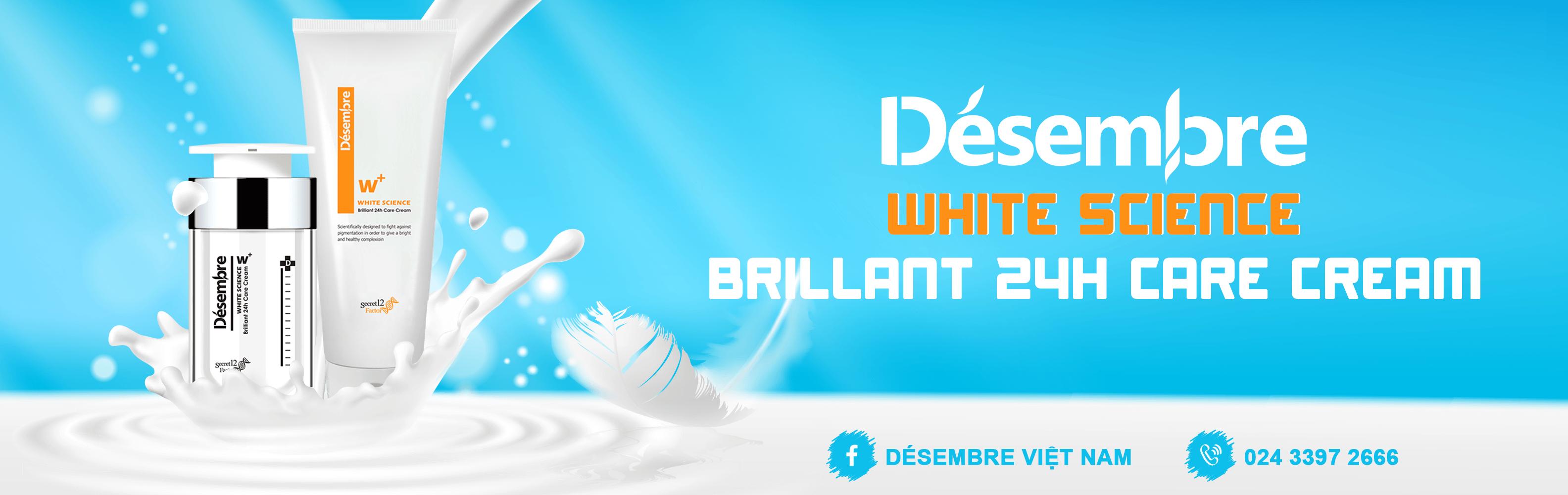 DÉSEMBRE WHITE SCIENCE BRILLIANT 24H CARE CREAM