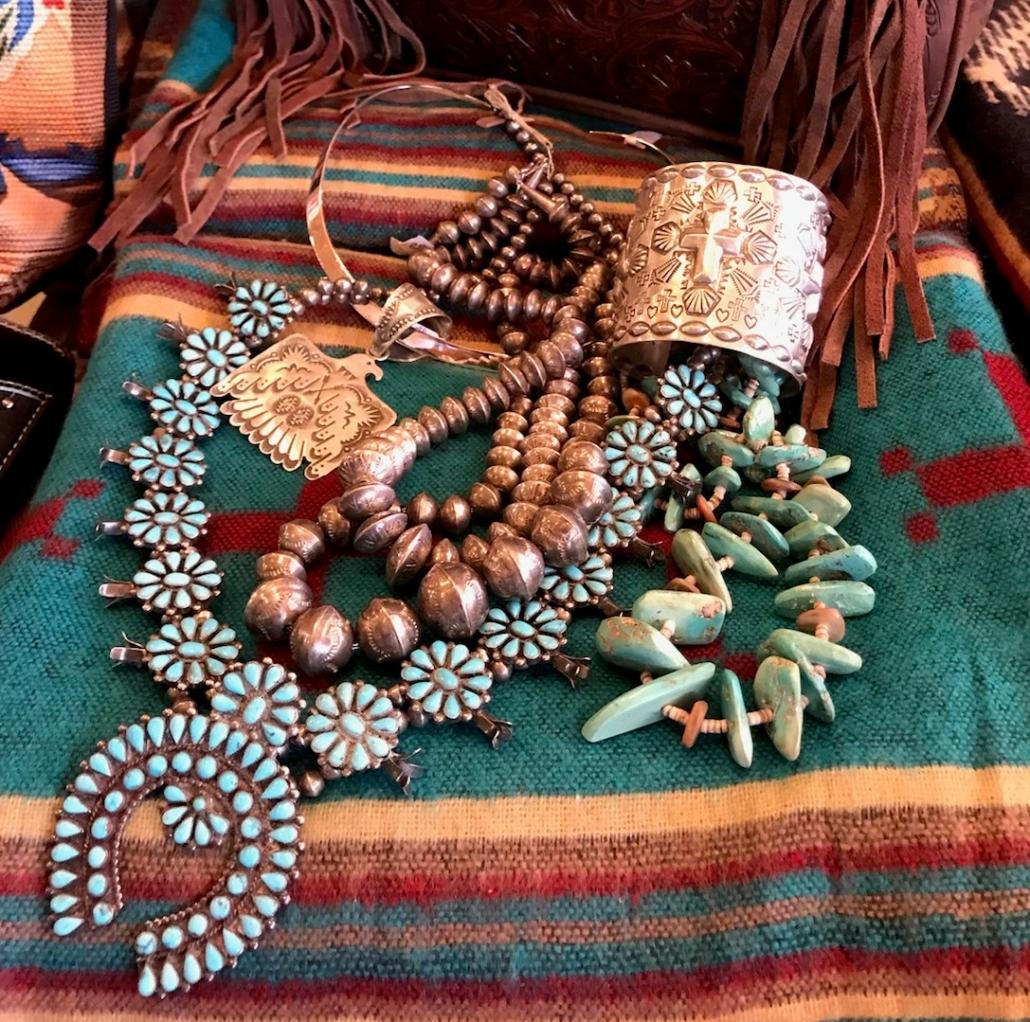Serape Bleu Jewelry