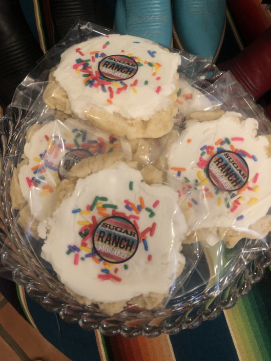 Sugar Ranch cookies at Serape Bleu