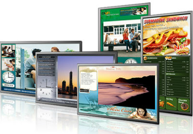 digital signage, noslar ti, interactive, touch screen, automated, business, monitor, screen, menu