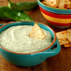 Creamy Roasted Hatch Chile Dip recipe pic