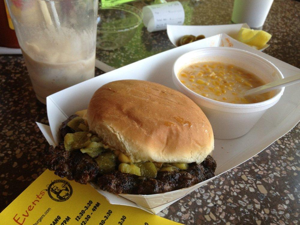 hatch chile burger