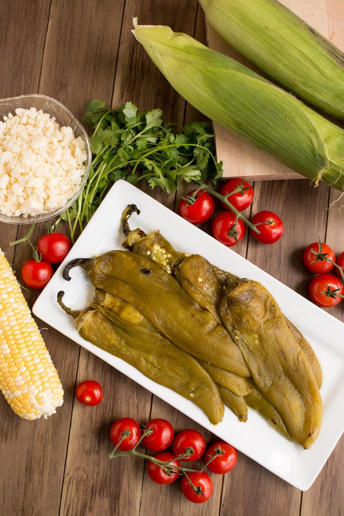 hatch chile corn salad ingredients