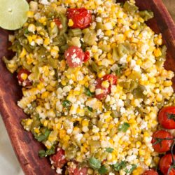 hatch chile corn salad