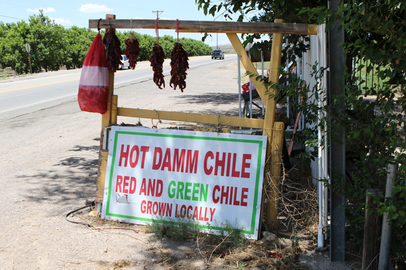 hot hatch chile sign