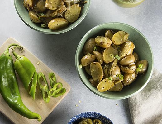 hatch chile potatoes