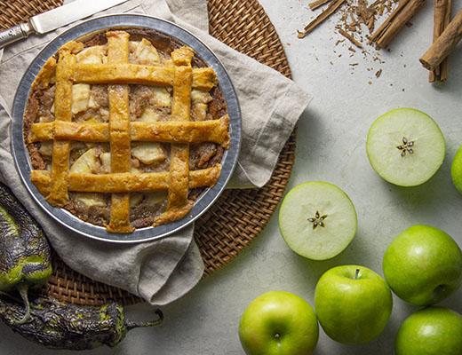 hatch chile apple pie
