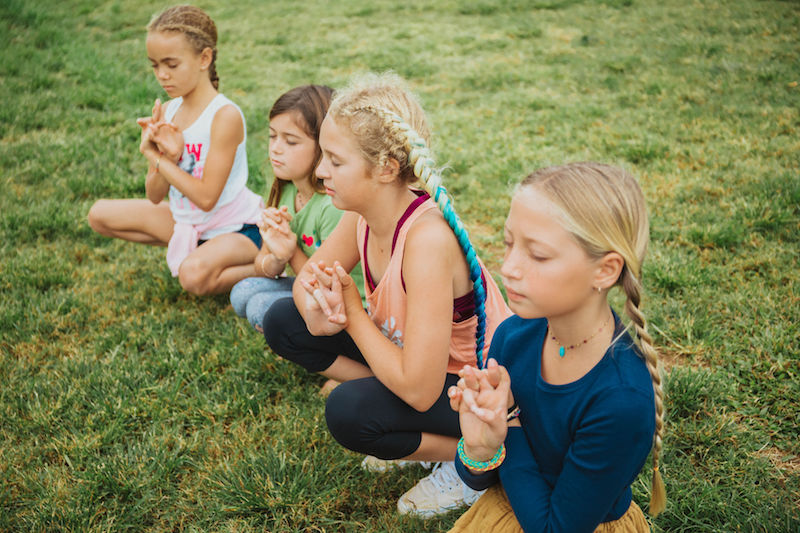 meditation at Kauai Homeschool Now