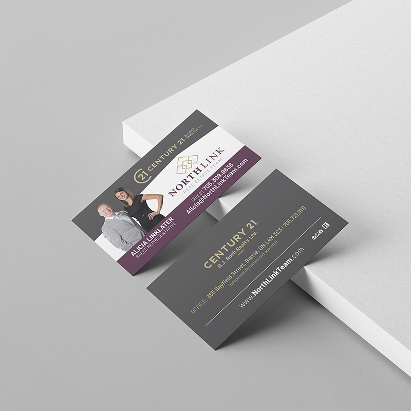 North Link Business Cards
