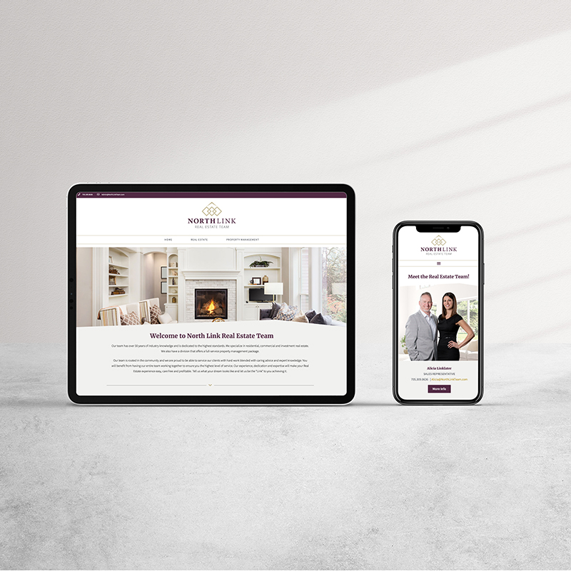 North Link Real Estate Web Design