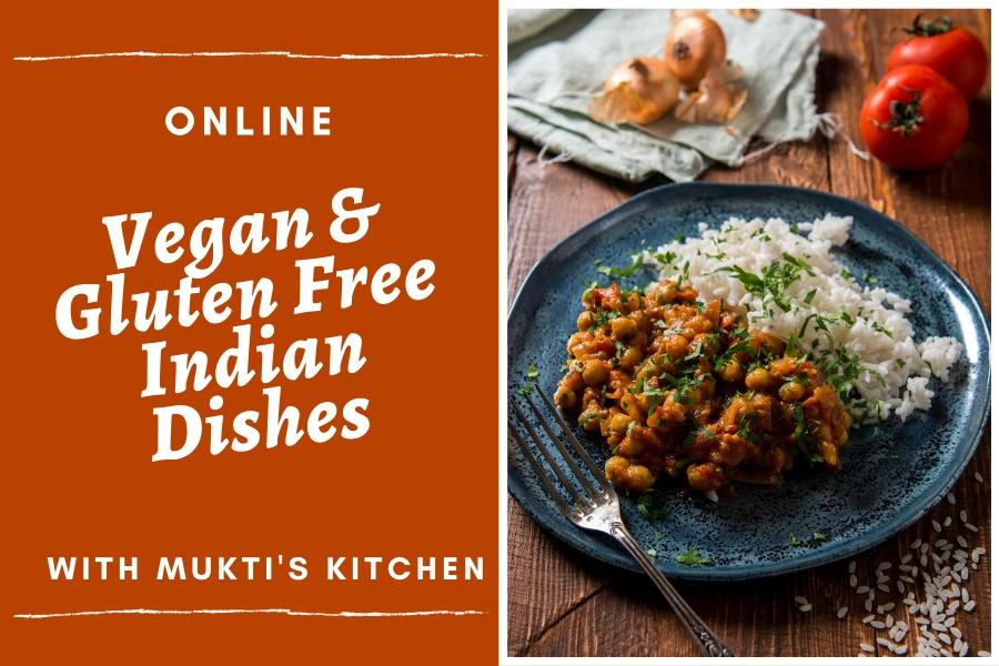 Vegan and Gluten Free Classes at Mukti's Kitchen