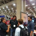 "Bill and HWYPRO team at the ""Gats Trucking Show"" in Dallas Texas"