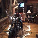 "Bill on chopper built on the ""Orange County Chopper"" TV show"
