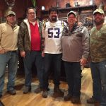 Bill and trucking friends (Alabama Fans) getting ready for the 2017 College Football Championship Game