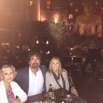 Bill with his mother-in-law Gail Lippman and his wife Beth in New York City preparing for an authentic Italian meal lined up by his friend Tommy Mottollo