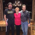 Bill Busbice, his mother and brother