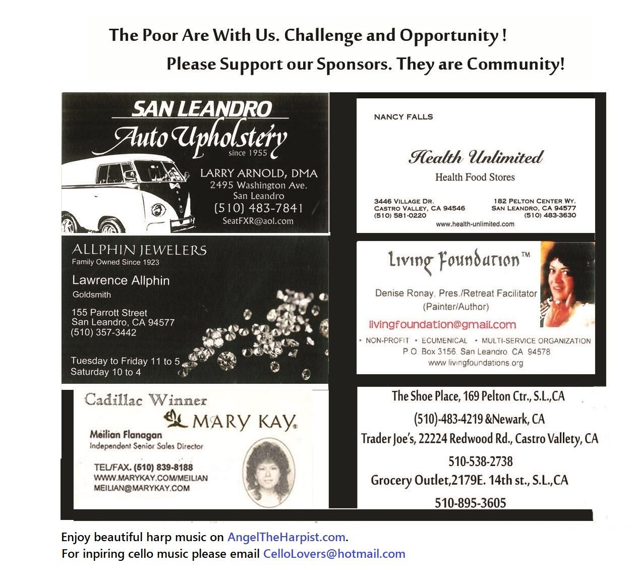 living foundation sponsored businesses