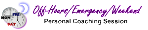 Off-Hours Session with Jan Luther EFT Master