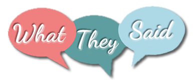 What They Said - Testimonials about Jan Luther's personal coaching