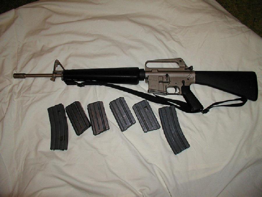 COLT M16A1 NITEX Finish | WSS Firearms