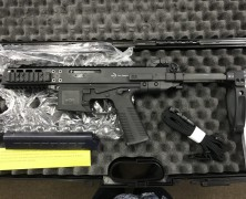 We now carry the Sig MPX, CZ Scorpion and the new line of B&T Firearms, GHM9 and the APC9.  Come in and check these out, NOW!