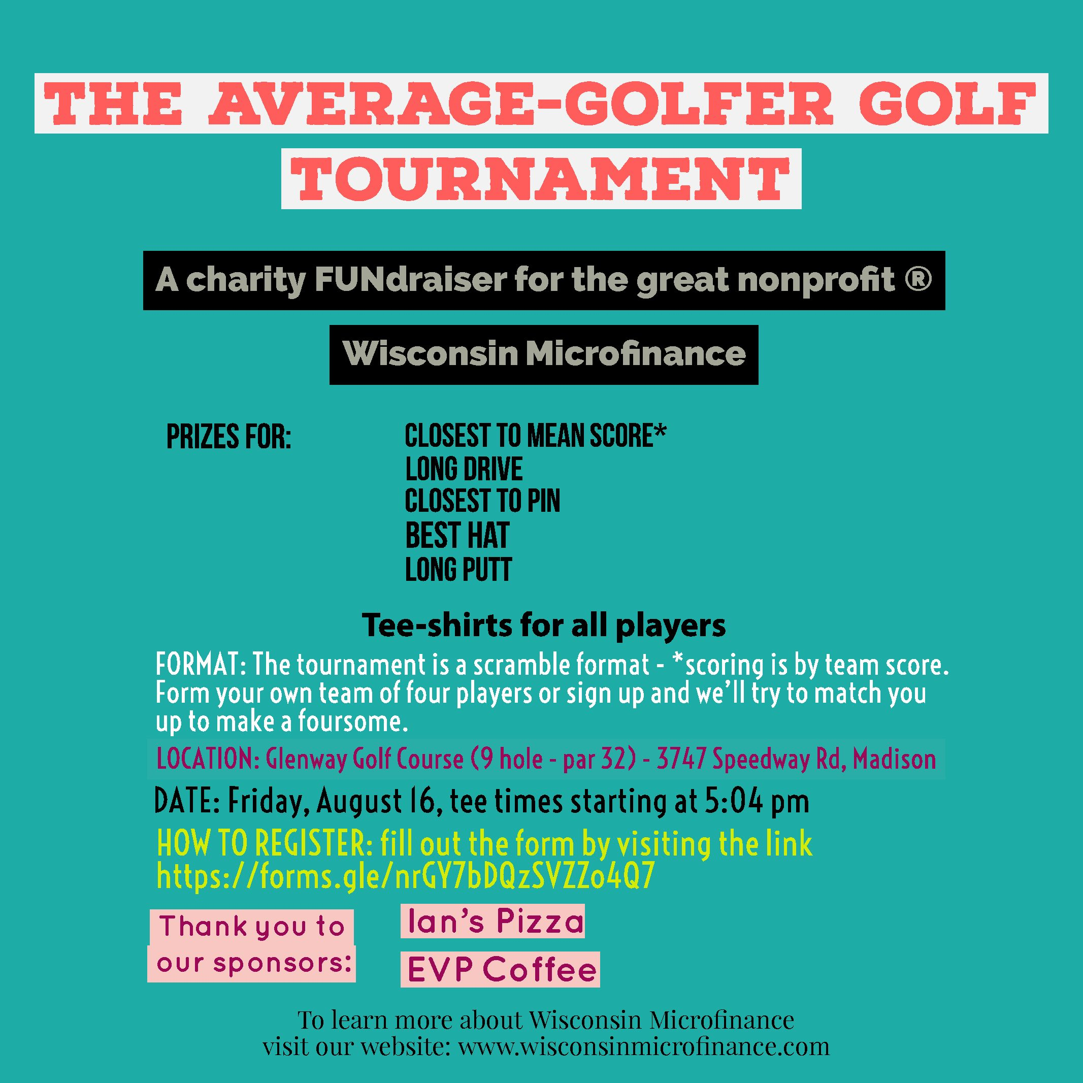 WI Microfinance Golf Outing