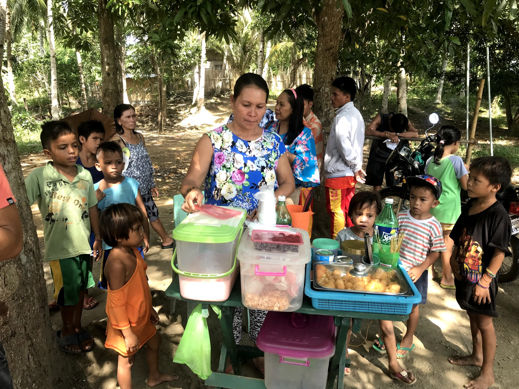 Pancresia was able to open a snack stand with the help of a loan from Wisconsin Microfinance.